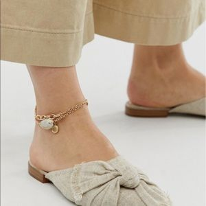 ASOS anklet(2) with Shell